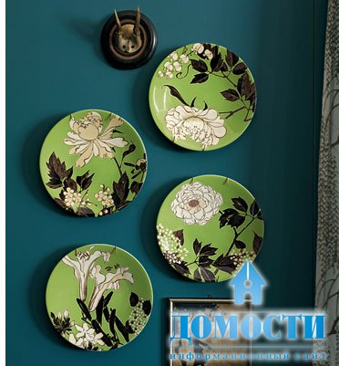 Декоративная тарелка на стену своими руками