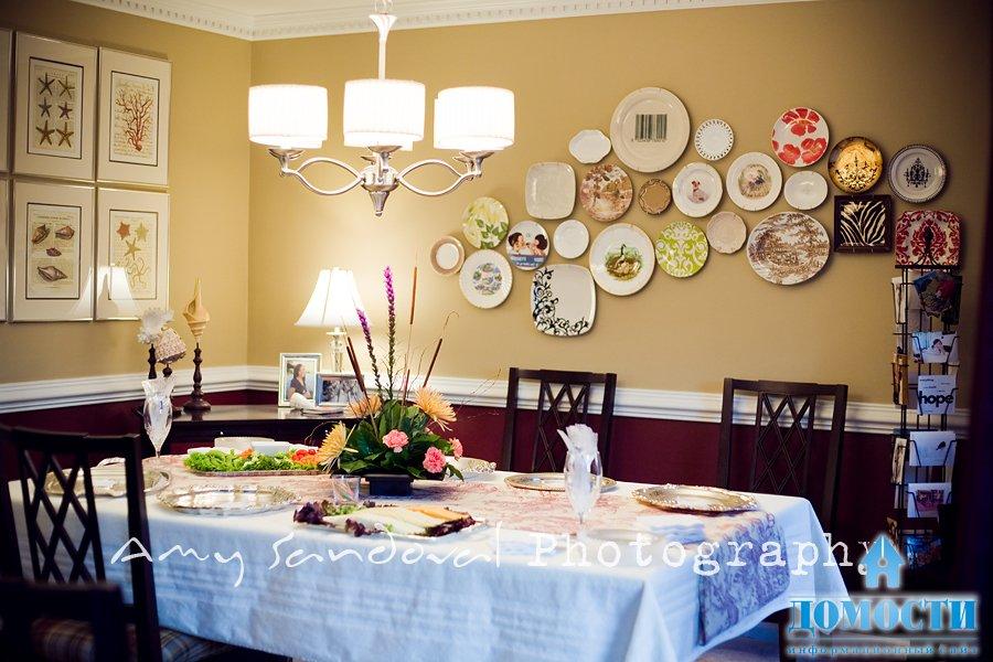 Фото декор тарелок своими руками
