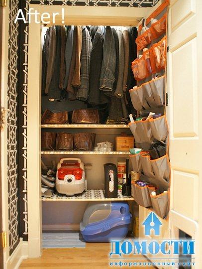 Удобный шкаф в прихожую 69
