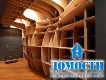 Дизайнерские книжные шкафы
