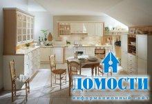 Дизайн кухонь в стиле кантри