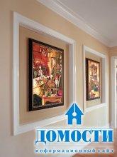 Картины в отделке стен