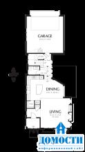Узкие дома с мансардой