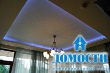 Современная подсветка потолка