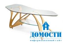 Изогнутый кофейный столик