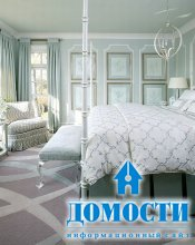 Красивые потолки в спальне