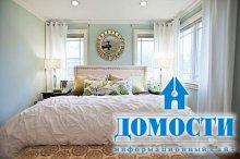 Зонирование узких спален