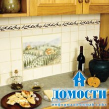 Плиточные фартуки на кухню