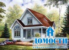 Дома в коттеджном стиле