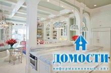Гармоничный дизайн открытой кухни