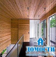 Деревянные детали современных интерьеров