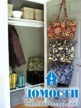 Организация шкафа в прихожей