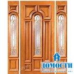 Деревянные двери для частных домов