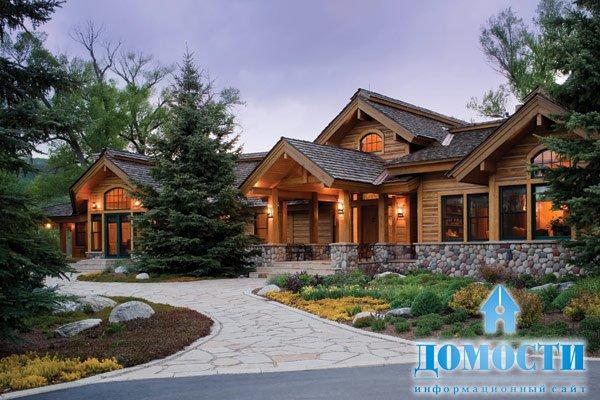 Красивые загородные дома