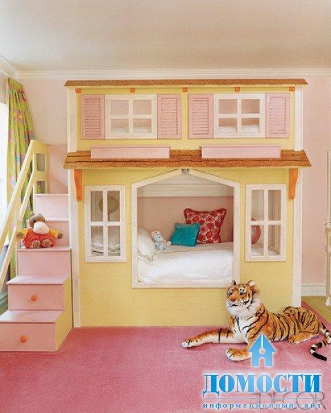 Детская кровать домик для девочки своими руками 98