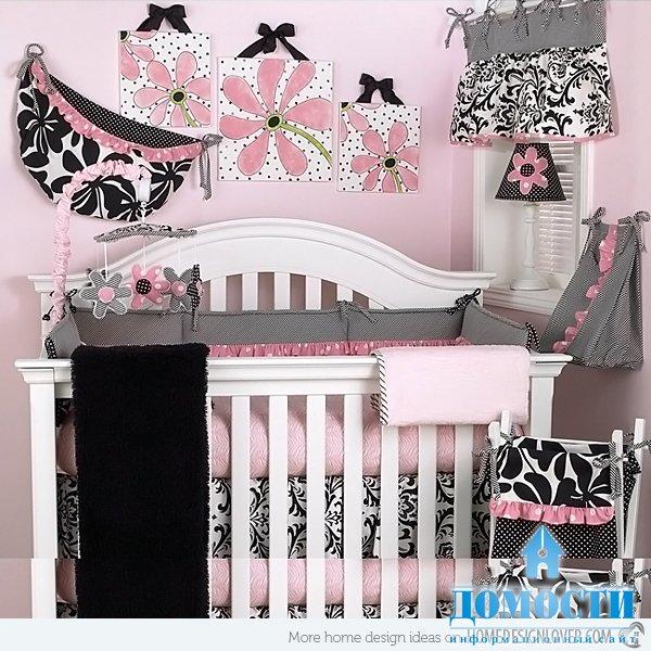 Спальни для новорожденных девочек Спальни для новорожденных девочек
