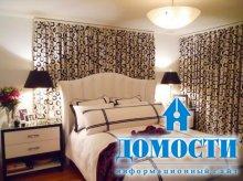 Классические контрастные спальни