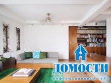 Маленькая квартира со встроенными элементами
