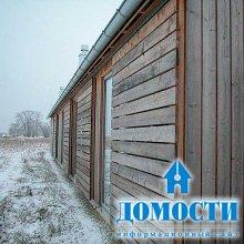 Скандинавская деревянная дача
