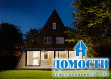 Реконструкция треугольного дома