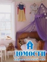 Разноцветные девичьи спальни