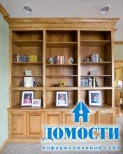 Классические деревянные стенки