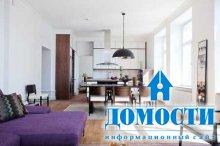 Дизайн общей комнаты в однокомнатной квартире