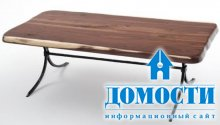 Необычные столы из массива