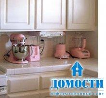 Розовые кухни – в моде