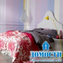 Спальни со свежей палитрой