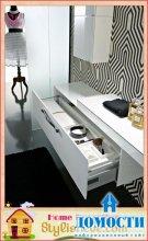 Стильный дизайн монохромных ванных