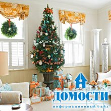 Новогодние и рождественские интерьеры