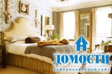 Детали спальни в классическом стиле