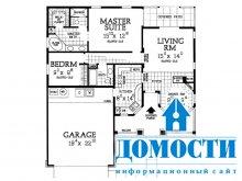 Планировка небольших экономичных домов