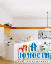 Современные кухни со стойками