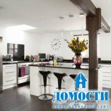 Барные стойки в дизайне кухни