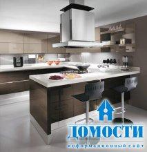 Функциональные маленькие кухни