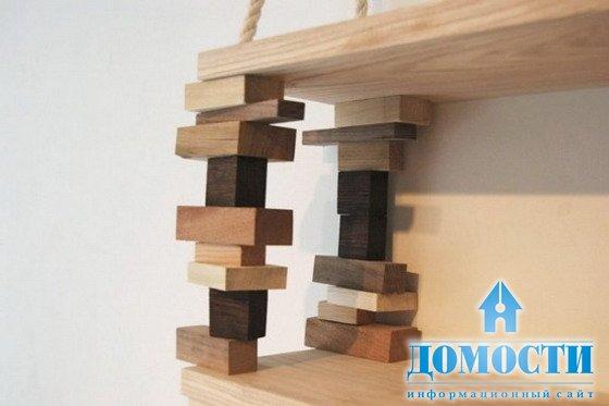 Как сделать деревянные полки