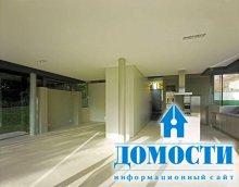 Дом с футуристической архитектурой
