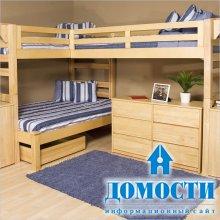 Деревянные кровати для растущих семей
