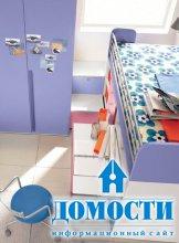 Компактная детская спальня