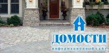 Дизайн каменных дорожек у дома
