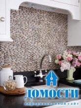 Кухонные фартуки из камня