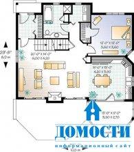 Проекты стильных загородных домов