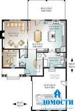 Проекты пеноблочных домов
