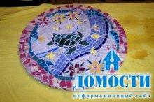 Столики с керамической мозаикой