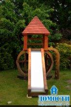 Дизайн детских деревянных площадок