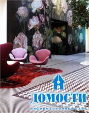 Мозаика в жилых комнатах