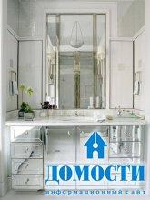Зеркальная ванная мебель
