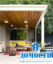 Красочный интерьер калифорнийской резиденции